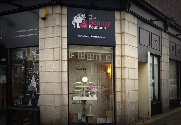 About the beauty foutain for Aberdeen beauty salon